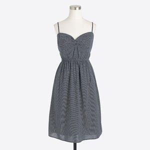 J. Crew cami twist dress triangle print